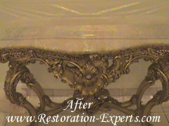 Antique Marble Restoration, Antigue Marble Repair, Antique Marble Polishing, , Baltimore, Maryland,Washington  DC, Virginia  After  # AMR  2