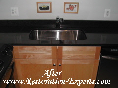 Granite Polishing, Granite Cleaning, Granite Restoration  Baltimore, Maryland,Washington  DC, Virginia  After  # PC 1
