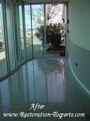 Marble Cleaning,  Baltimore, Maryland,Washington  DC, Virginia Terrazzo After #  MC 2