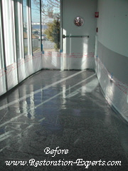 Marble Cleaning,  Baltimore, Maryland,Washington  DC, Virginia  Terrazzo Before  # MC  2
