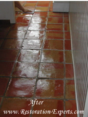 Marble Cleaning, Baltimore, Maryland,Washington  DC, Virginia  Terra Cotta  After #  MC  1