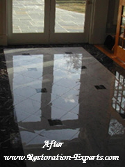 Marble Restoration Before & After,  Baltimore, Maryland,Washington  DC, Virginia  After # BA 1