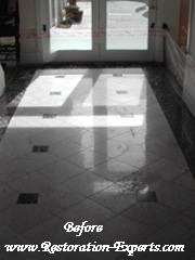 Marble Restoration Before & After,  Baltimore, Maryland,Washington  DC, Virginia  Before # BA 1
