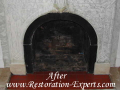 Marble Fireplaces Restoration, Marble Fireplace Claening, Marble Fireplace Polishing  Baltimore, Maryland,Washington  DC, Virginia  After  # M FR  1