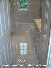 Marble Restoration Before & After, Baltimore, Maryland,Washington  DC, Virginia  After # BA 5